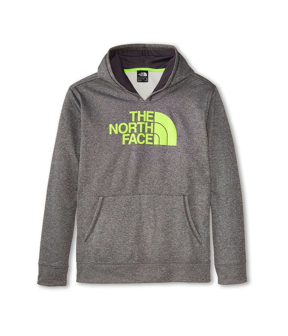 The North Face Kids - Boys' Logo Surgent Pullover Hoodie (Little Kids/Big Kids) (Heather Grey) Boy's Sweatshirt