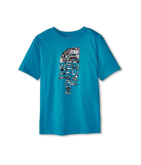 The North Face Kids - S/S Half Dome Tee (Little Kids/Big Kids) (Enamel Blue) Boy