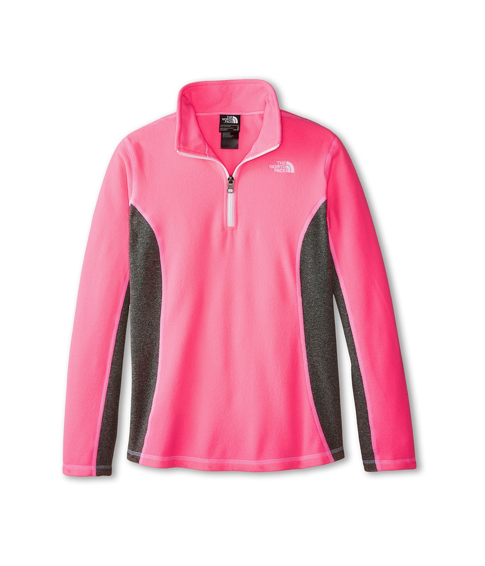 The North Face Kids - Glacier 1/4 Zip (Little Kids/Big Kids) (Gem Pink) Girl's Coat