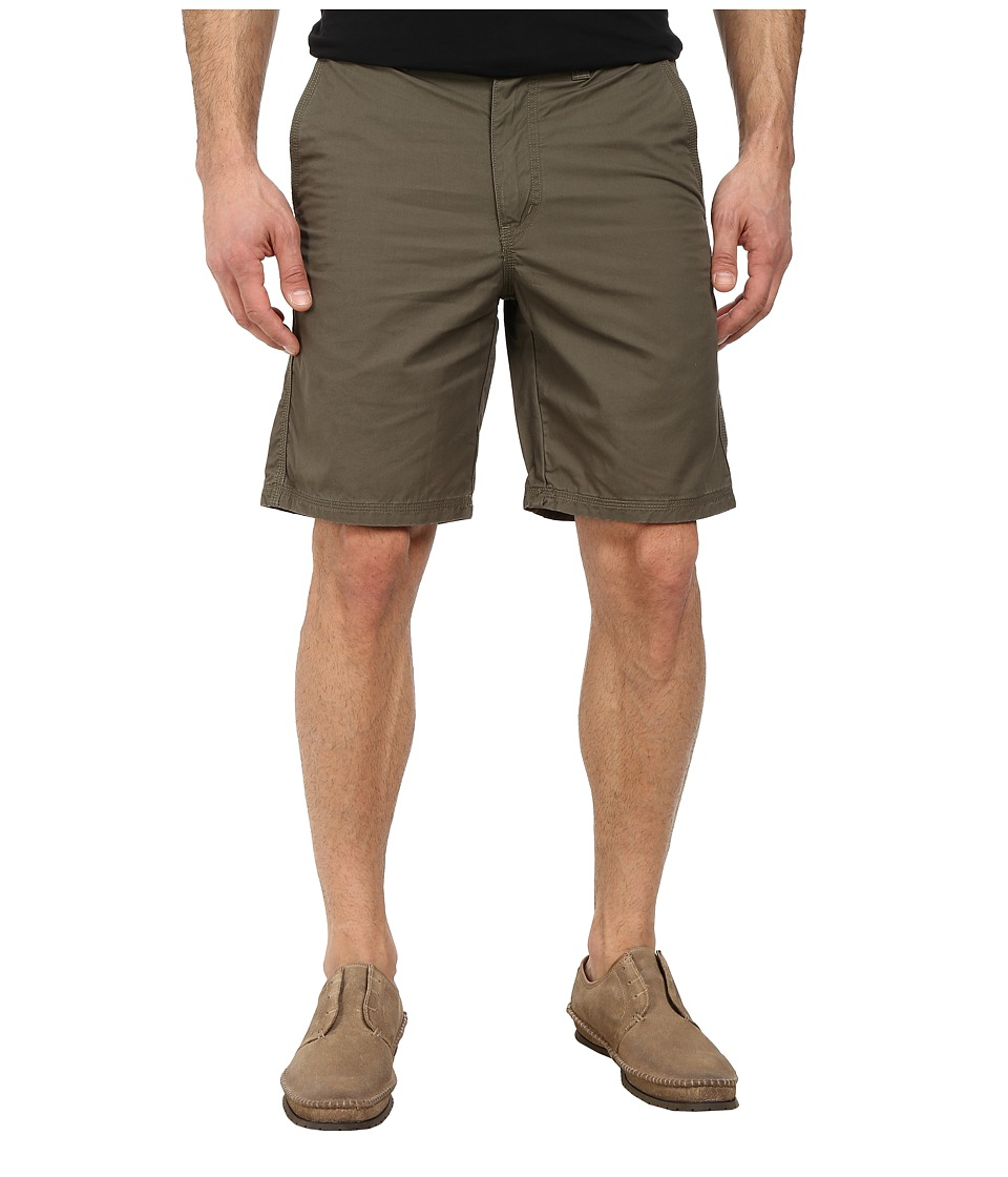 John Varvatos Star U.S.A. - Triple Needle Short w/ Patch and Flap Pockets (Tent Green) Men's Shorts