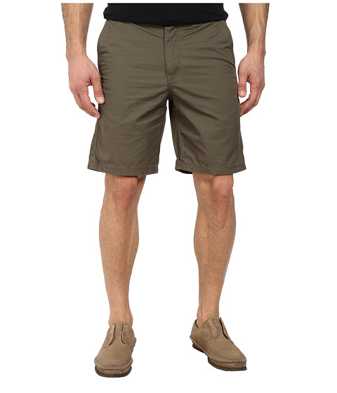 John Varvatos Star U.S.A. - Triple Needle Short w/ Patch and Flap Pockets (Tent Green) Men