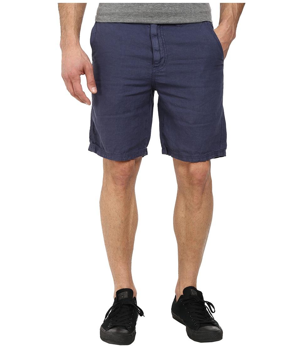 John Varvatos Star U.S.A. - Triple Needle Short w/ Patch and Flap Pockets (Regal Blue) Men's Shorts