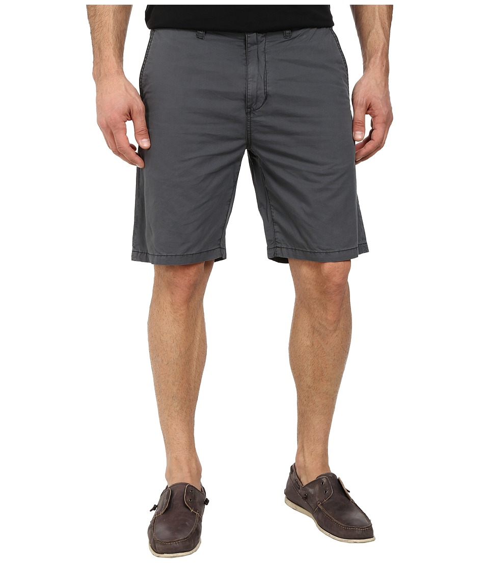 John Varvatos Star U.S.A. - Casual Short With Flap Back Pockets (Shale Grey) Men's Shorts