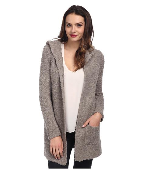 525 america - Boucle Hoodie Cardigan (Thundercloud) Women's Sweater