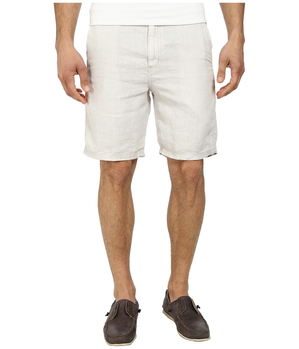 John Varvatos Star U.S.A. - Triple Needle Short w/ Patch and Flap Pockets (Fossil) Men's Shorts