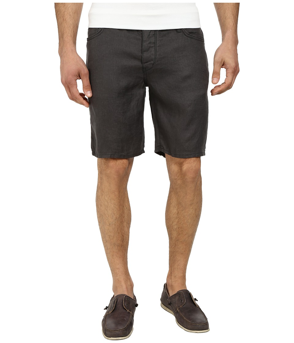 John Varvatos Star U.S.A. - Jean Short w/ Pick Stitch Details (Shark) Men's Shorts