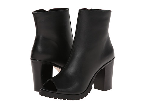 Steve Madden - Traffic (Black Leather) Women