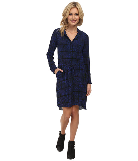 Lucky Brand - Everyday Shift Dress (Blue Multi) Women's Dress