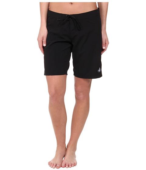 Body Glove - Swamis Microfiber Boardshort (Black) Women's Swimwear
