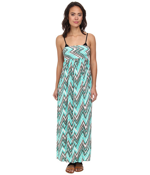 Body Glove - Lily Maxi Tube Dress Cover-Up (Lagoon) Women