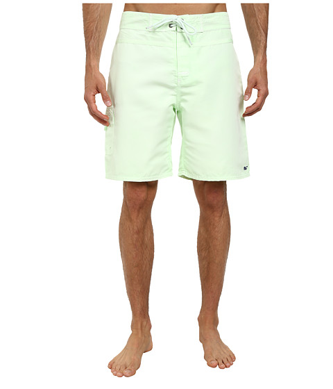 Vineyard Vines - Pigment Dyed Board Short (Green) Men's Swimwear