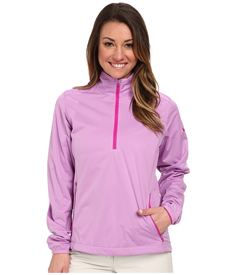 Nike Golf - Windproof 1/2 Zip (Violet Shock/Fuchsia Flash/Fuchsia Flash) Women's Long Sleeve Pullover