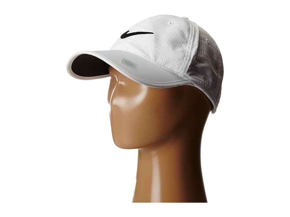 Nike Golf - Perf Cap (White/White/Black) Caps