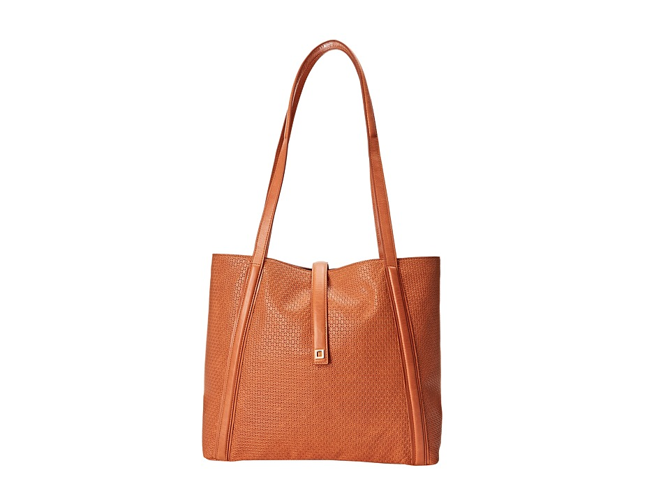 Lodis Accessories - Woodlake Danya Slouch Tote (Terra Cotta) Tote Handbags