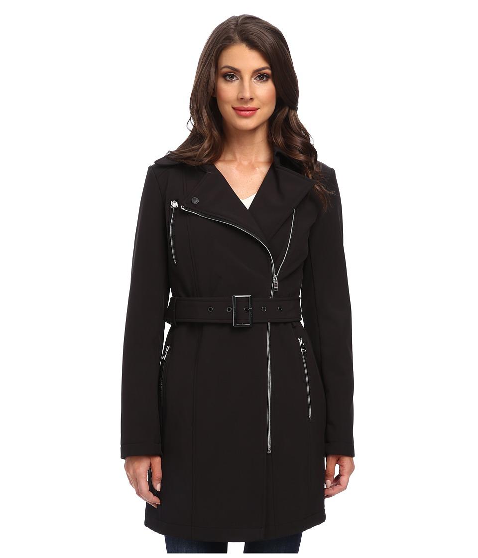 Calvin Klein - Trench Coat (Black) Women's Coat