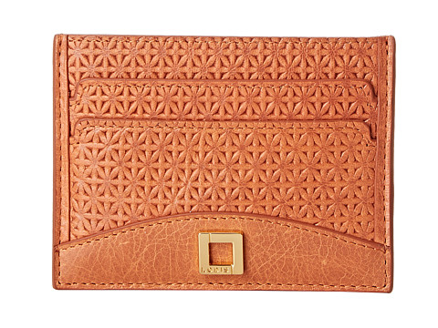 Lodis Accessories - Woodlake Patti Mirror Card Case (Terra Cotta) Credit card Wallet