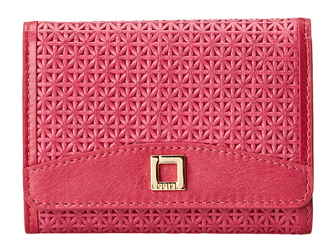 Lodis Accessories - Woodlake Mallory French Purse (Flamingo) Wallet Handbags