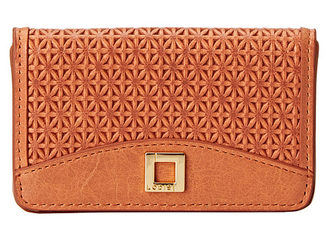 Lodis Accessories - Woodlake Mini Card Case (Terra Cotta) Credit card Wallet