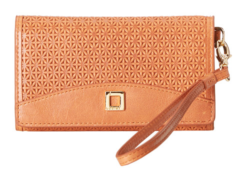 Lodis Accessories - Woodlake Cassie Phone Wallet (Terra Cotta) Cell Phone Case