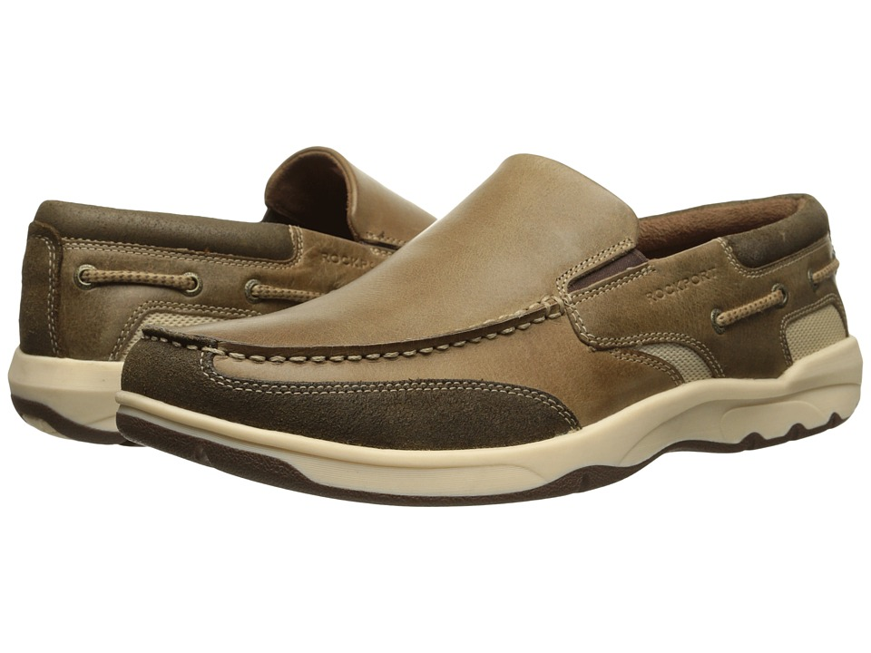 Rockport - Street Sailing Slip-On (Tan) Men's Slip on Shoes