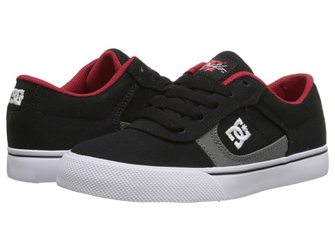 DC Kids - Cole Pro TX (Big Kid) (Black/Athletic Red/Battleship) Boys Shoes