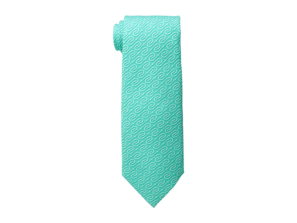 Vineyard Vines - Fish Hooks Printed Tie (Poolside) Ties