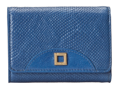 Lodis Accessories - Huron Mallory French Purse (Lapis Blue) Wallet Handbags