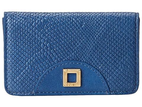 Lodis Accessories - Huron Mini Card Case (Lapis Blue) Credit card Wallet