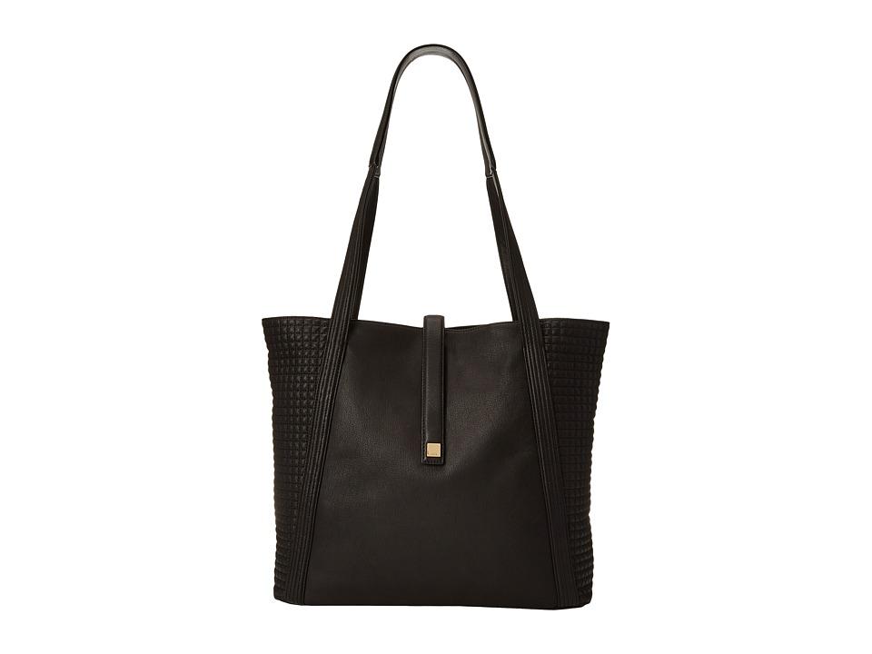 Lodis Accessories - Gardena Danya Slouch Tote (Black) Tote Handbags