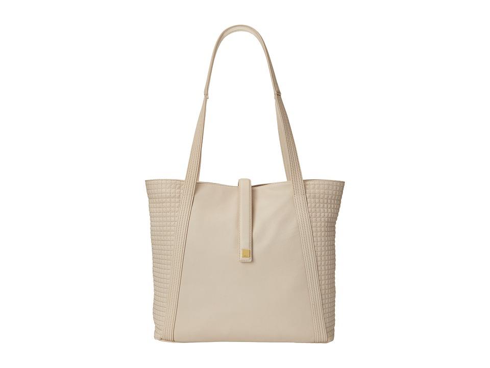Lodis Accessories - Gardena Danya Slouch Tote (Dark Bone) Tote Handbags