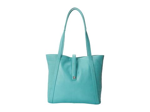 Lodis Accessories - Gardena Danya Slouch Tote (Sea Green) Tote Handbags