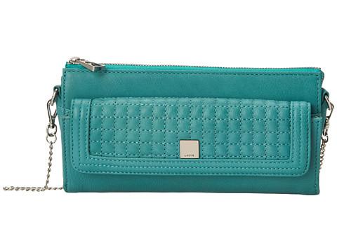 Lodis Accessories - Gardena Reyna Crossbody (Sea Green) Cross Body Handbags