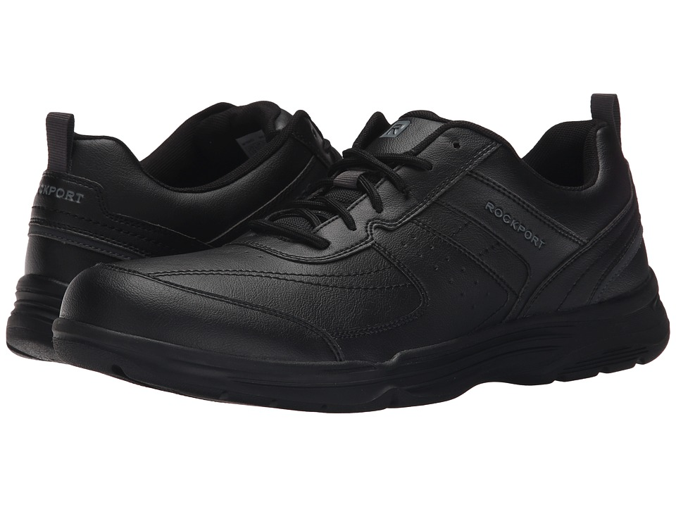 Rockport - State-O-Motion U-Bal (Black) Men's Walking Shoes