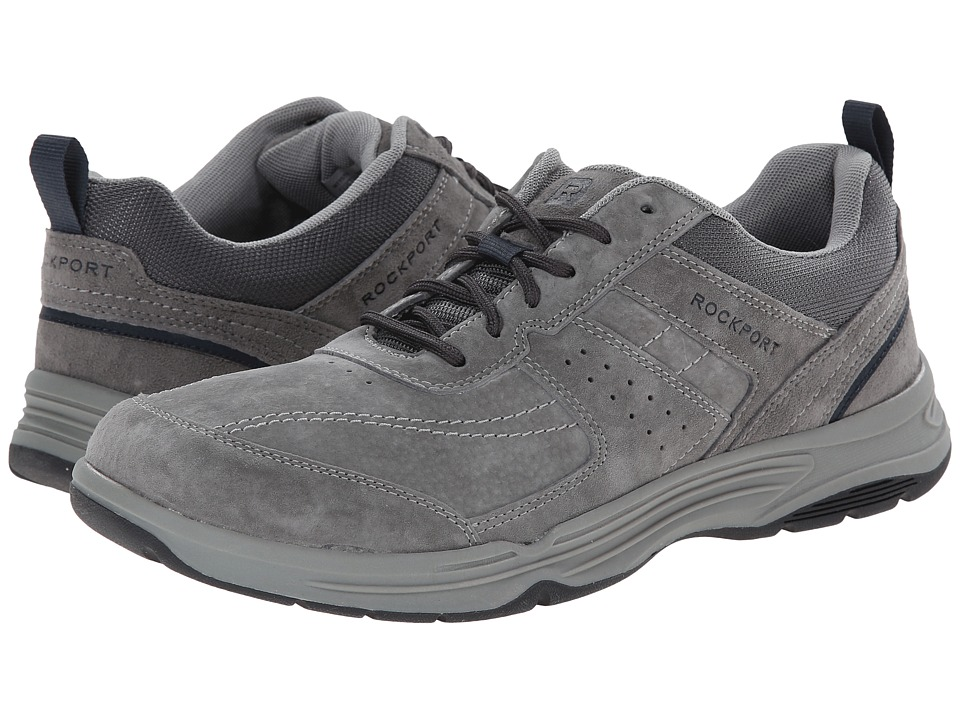 Rockport - State-O-Motion U-Bal (Charcoal) Men's Walking Shoes