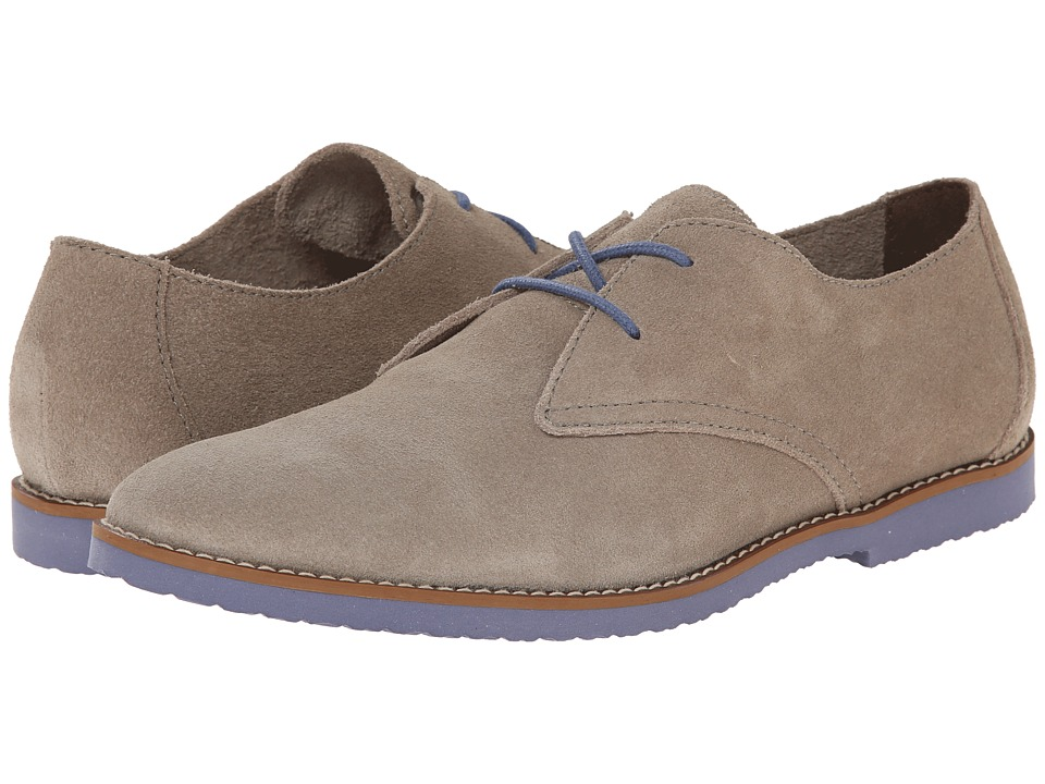 BUKS by Walk-Over - Stanwick (Antilope (Natural) Suede/Bright Blue) Men