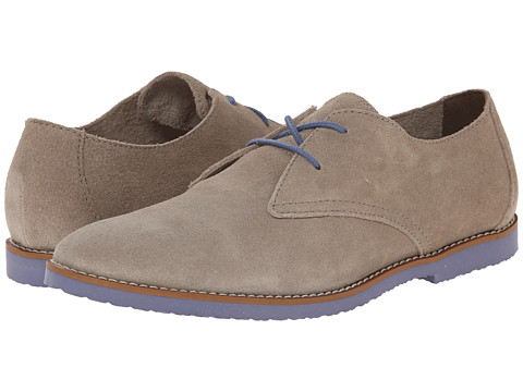 BUKS by Walk-Over - Stanwick (Antilope (Natural) Suede/Bright Blue) Men's Lace up casual Shoes