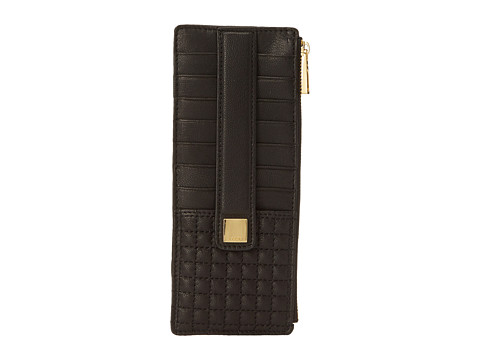 Lodis Accessories - Gardena Card Case w/ Zipper Pocket (Black) Credit card Wallet