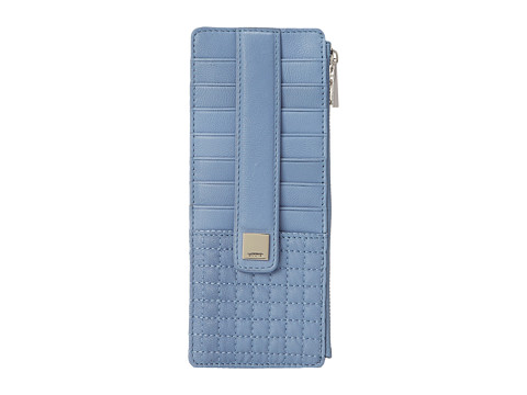 Lodis Accessories - Gardena Card Case w/ Zipper Pocket (Corn Flower) Credit card Wallet