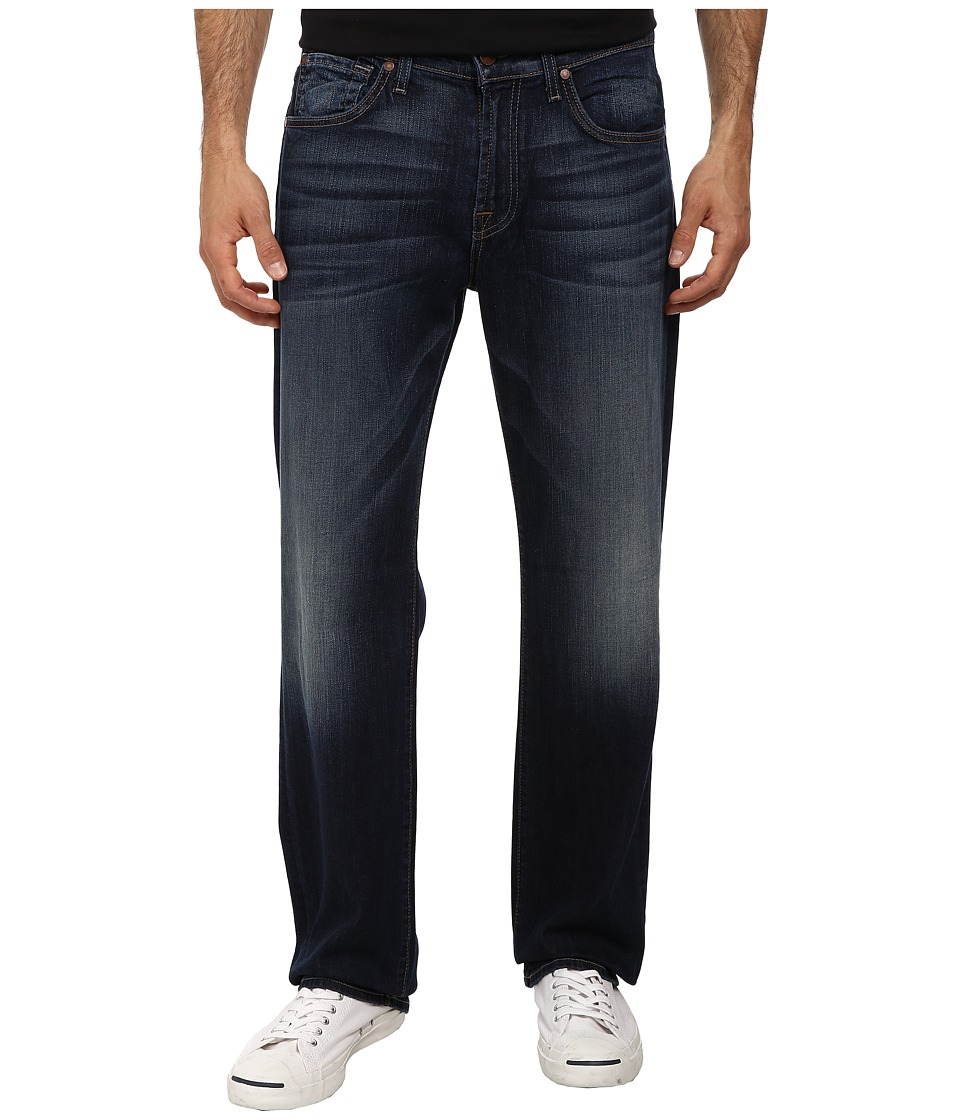 7 For All Mankind - Luxe Performance Austyn Relaxed Straight in Blue Illusion (Blue Illusion) Men's Jeans