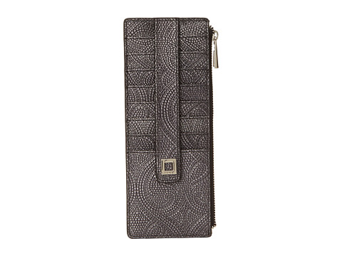 Lodis Accessories - Richmond Credit Case with Zipper Pocket (Black) Credit card Wallet