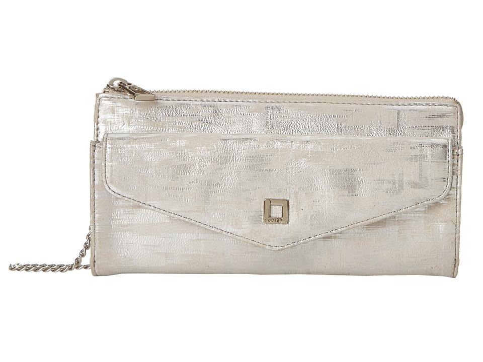 Lodis Accessories - Shasta Lake Reyna Crossbody (Silver) Cross Body Handbags