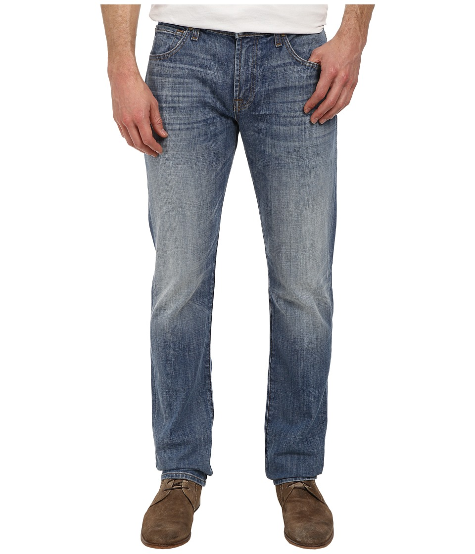 7 For All Mankind - The Straight w/ Clean Pocket in Ojai Blues (Ojai Blues) Men's Jeans