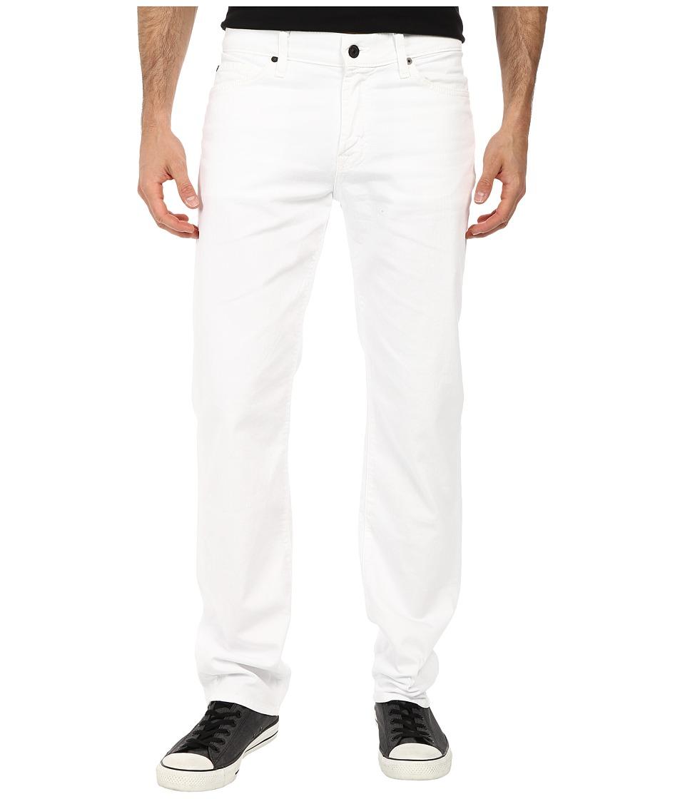 7 For All Mankind - Slimmy w/ Clean Pocket in White Denim (White Denim) Men's Jeans
