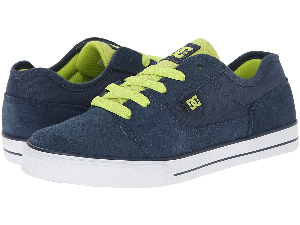 DC Kids - Tonik (Little Kid) (Navy) Boys Shoes