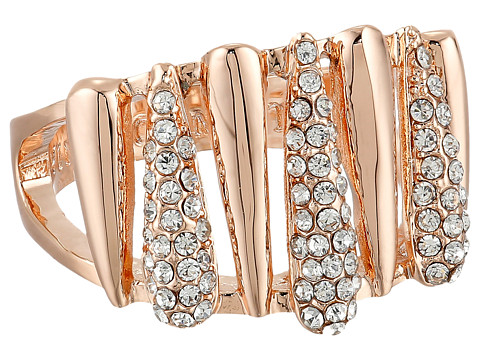 Vince Camuto - Silver Springs Crystal Ring (Rose Gold/Crystal) Ring