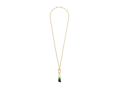 Vince Camuto - Tropical Equinox Small Pendant Necklace (Gold/Green/Black/White) Necklace