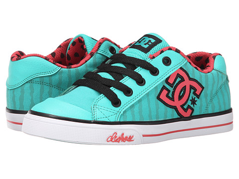 DC Kids - Chelsea Graffik (Little Kid) (Watermelon) Girls Shoes