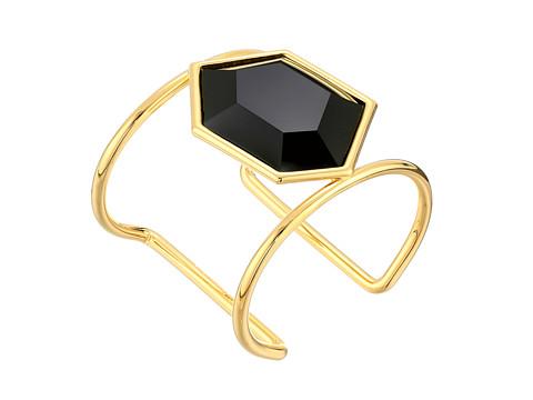 Vince Camuto - Tropical Equinox Stone Cuff Bracelet (Gold/Black) Bracelet
