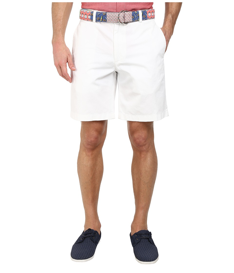 Vineyard Vines - 9 Summer Twill Club Short (White Cap) Men's Shorts