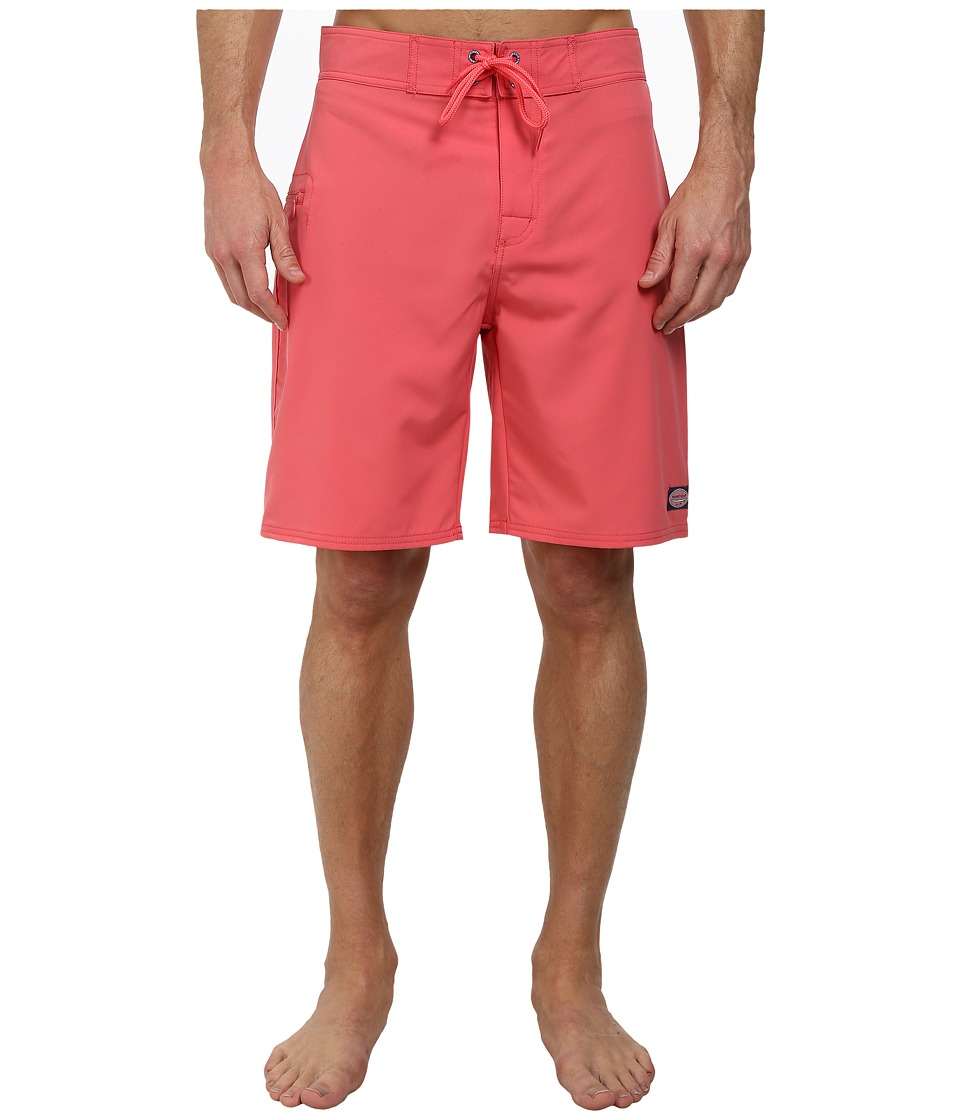 Vineyard Vines - Solid Stretch Board Short (Jetty Red) Men's Swimwear